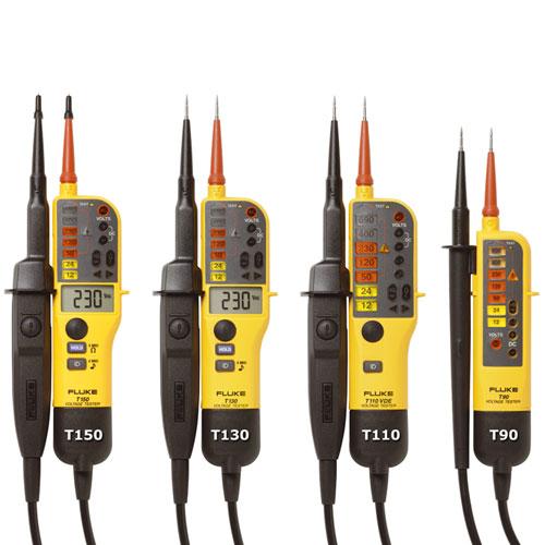 Fluke T90 Fluke T110 Fluke T130 Fluke T150 Voltage